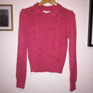 Sweaters - Vintage Pink Bubble Knit